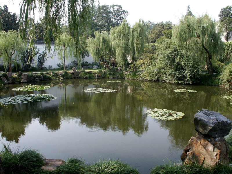 Yangzhou- westl.schlanker See
