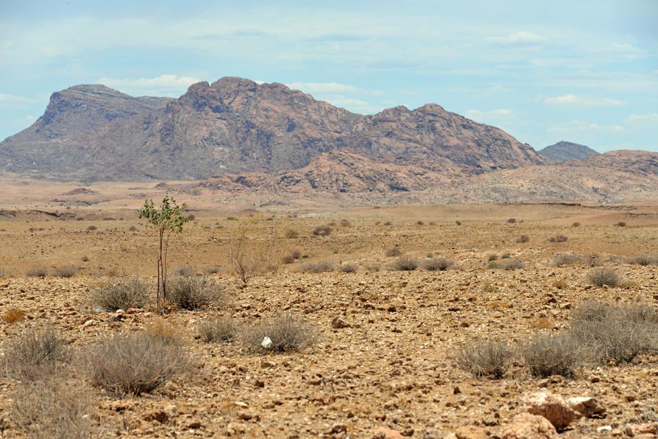 Landschaft nahe Kuiseb-Canyon