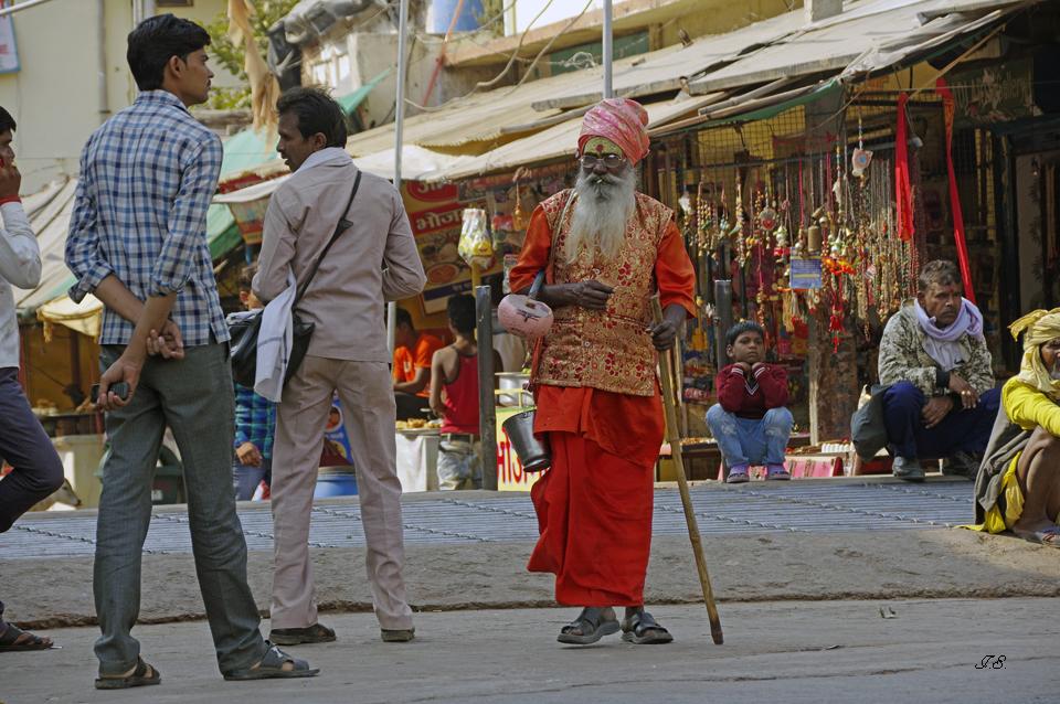Orchha, Menschen und Märkte