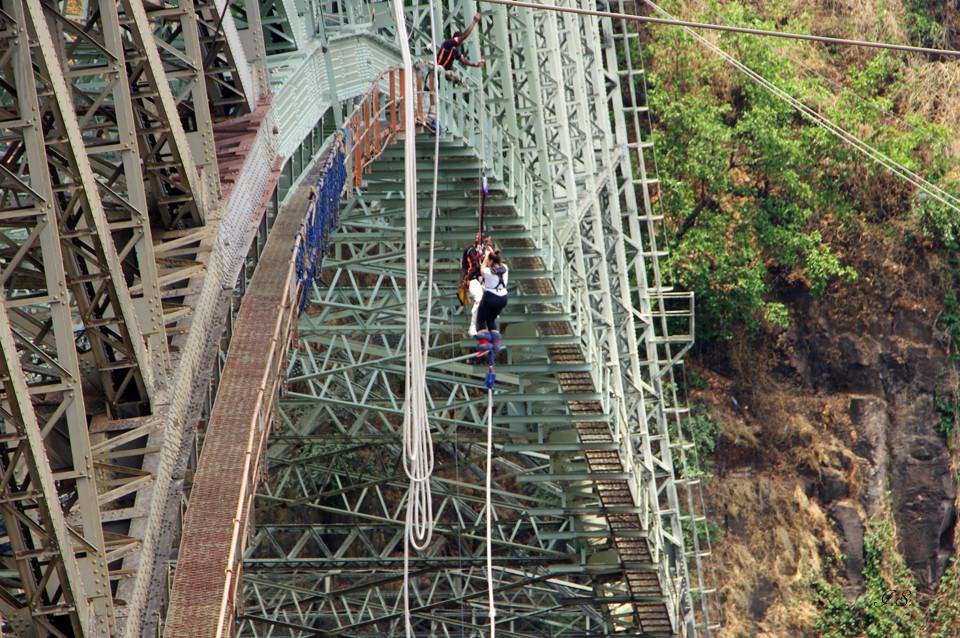 Bungeesprung Victoria Falls