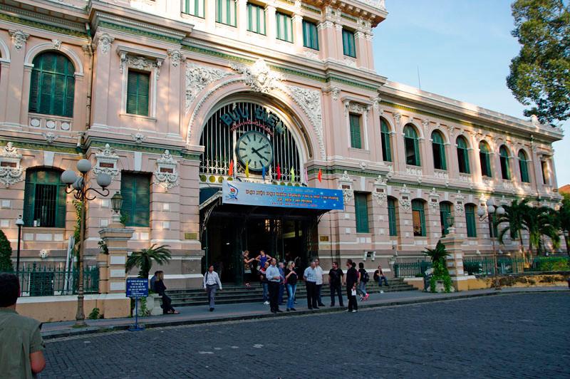Saigon, Hauptpost