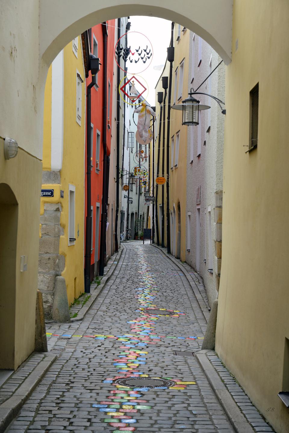 Stadtansichten von Passau