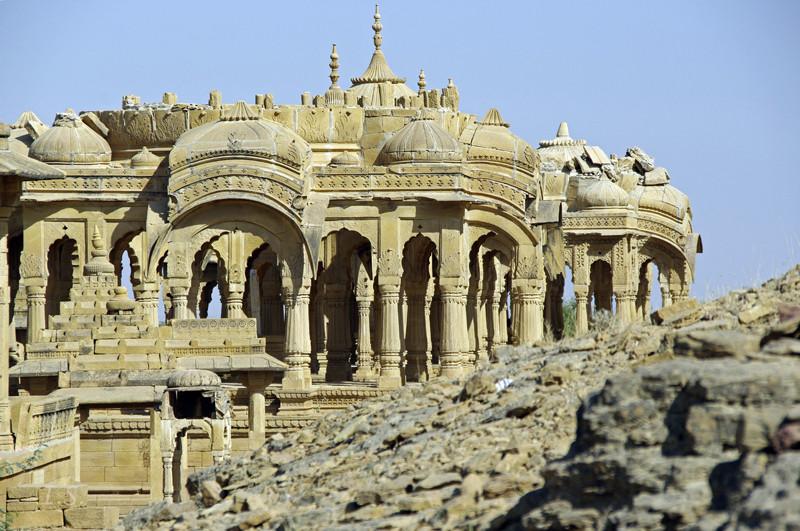 Bada Bagh königliche Gräber