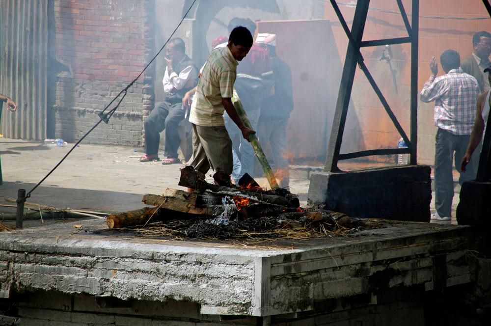 Verbrennungszeremonie