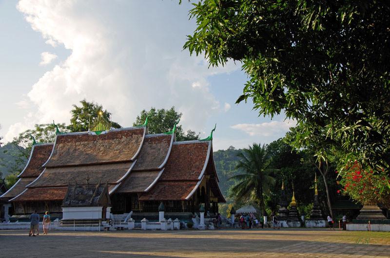Gebäude rund um den Palast