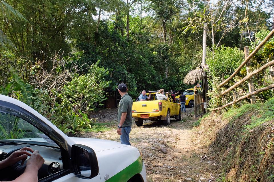 Auf dem Weg in den Amazonas-Regenwald