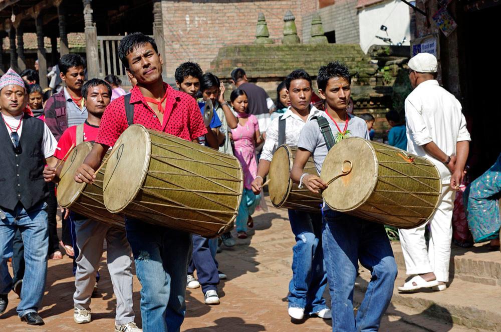 Bhaktapur, Festzug