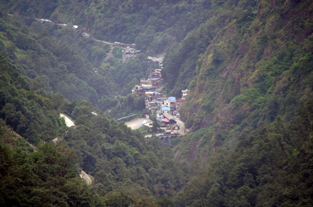 Grenze Tibet-Nepal
