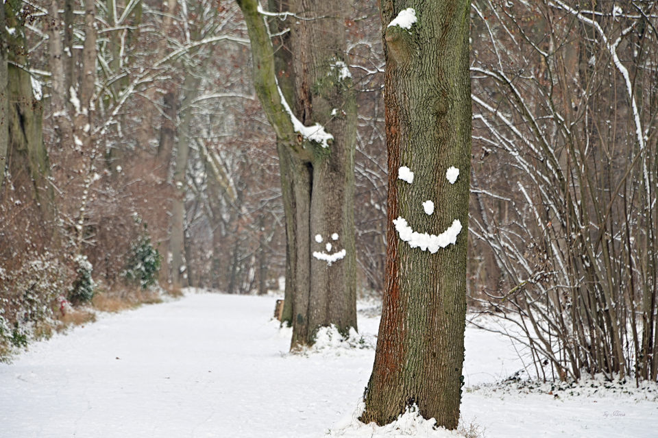 Bitte lächeln