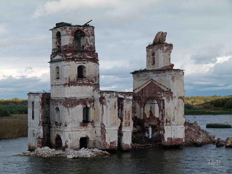 Weißer See, Krochino Kirche