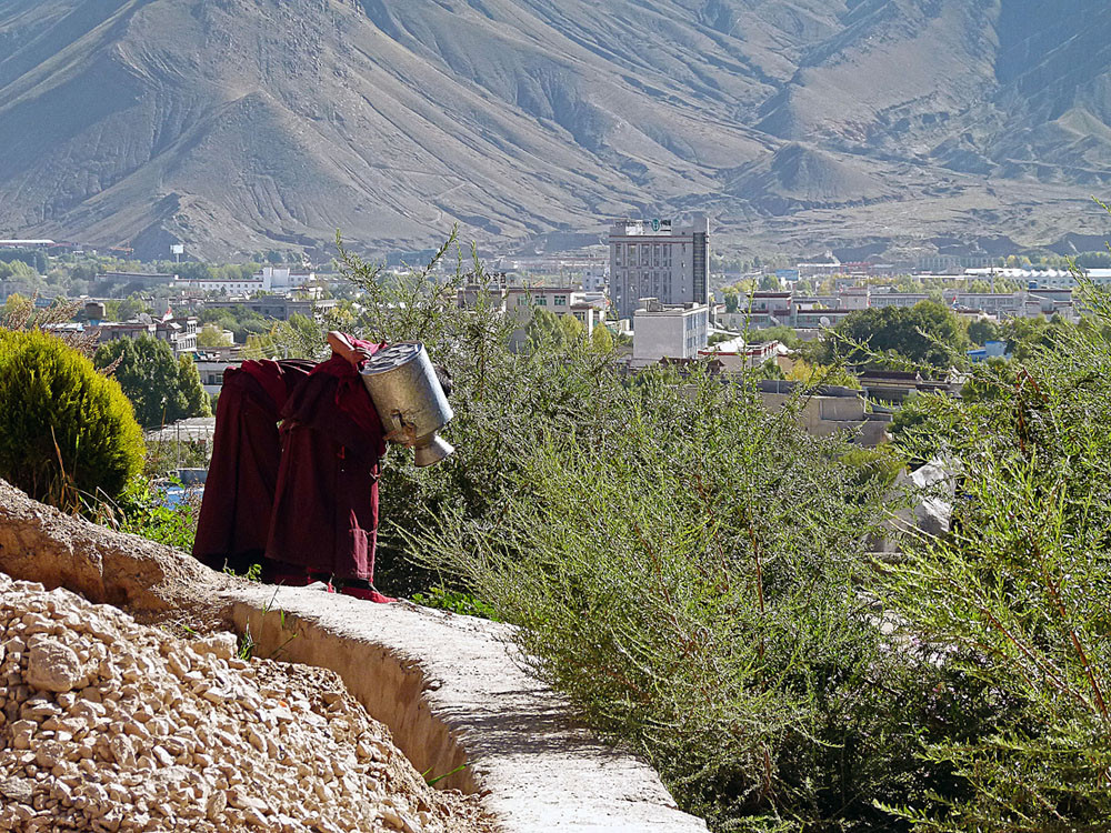 Shigatse, Kloster Tashilhumpo