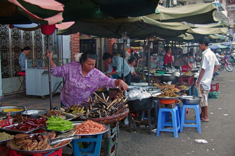 Phnom Penh, Markt
