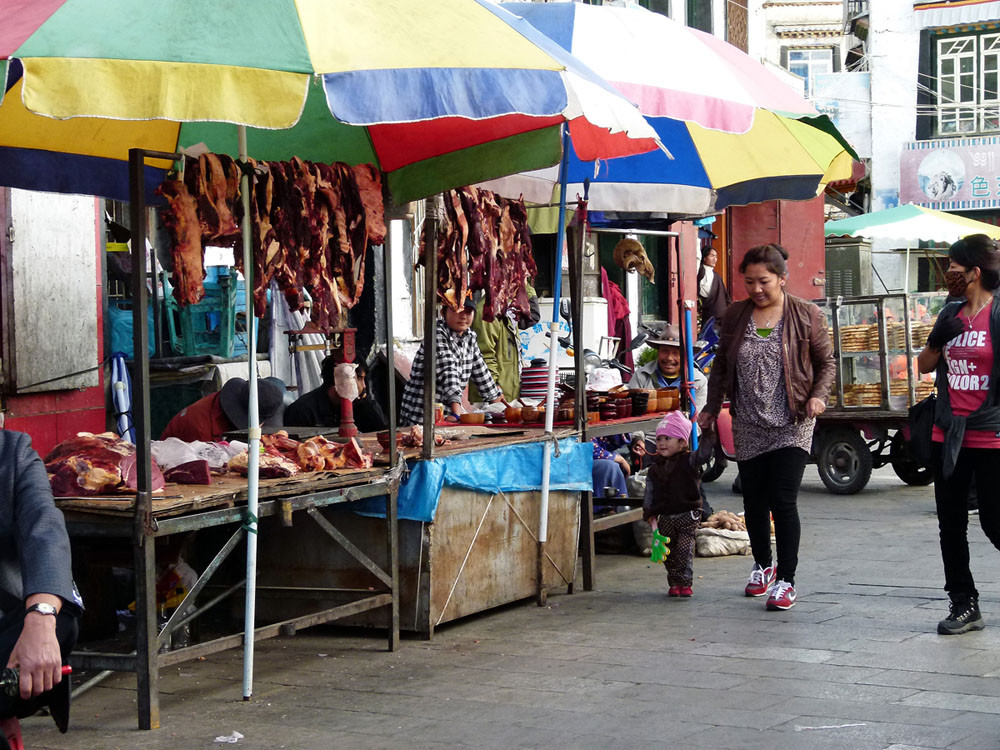 Lhasa, Altstadt