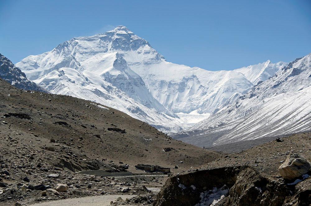 Rongbuk Aufstieg zum Mt. Everest Base Camp
