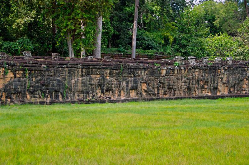 Angkor Bayon, Elefantenterrasse