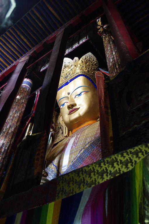 Kloster Tashilhumpo, größte Buddhastatue