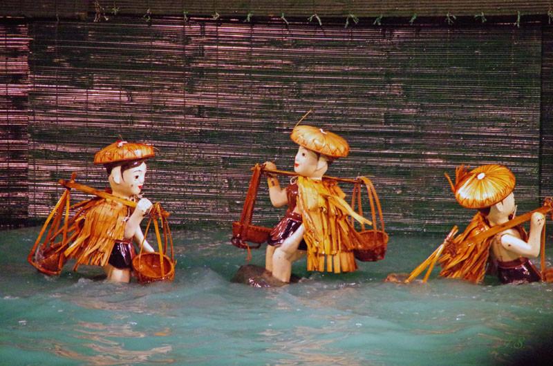 Wasserpuppentheater