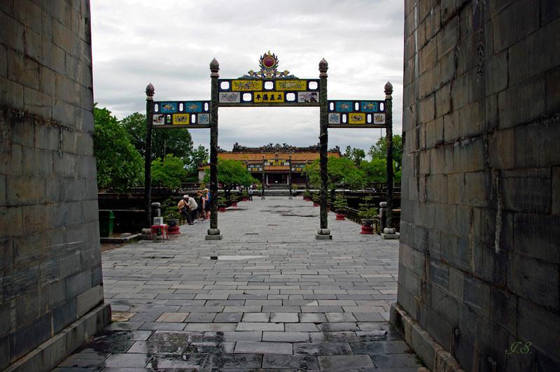 Hue, Thai Hoa Palast