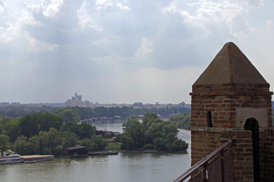 Zusammenfluss Save-Donau