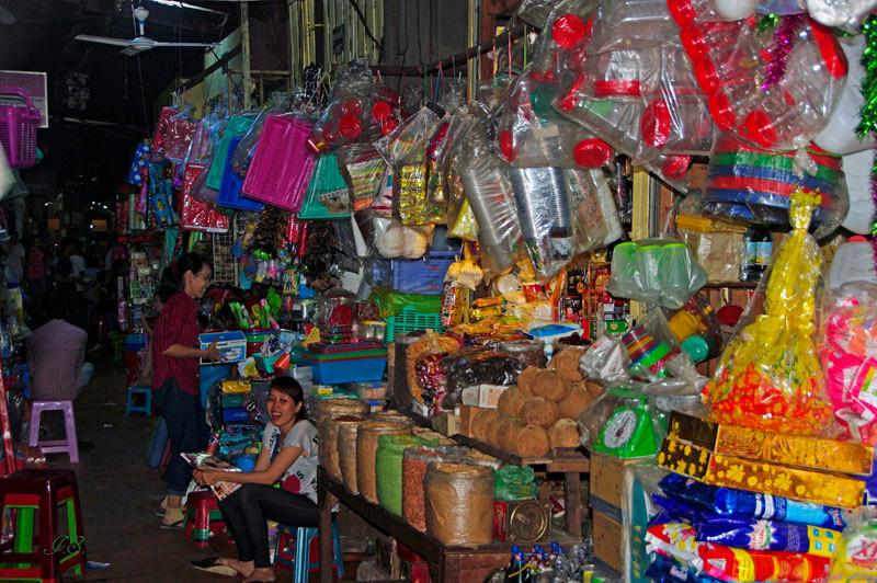 Phnom Penh, russischer Markt