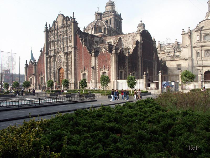 Mexiko Stadt Kathedrale Metropolitana
