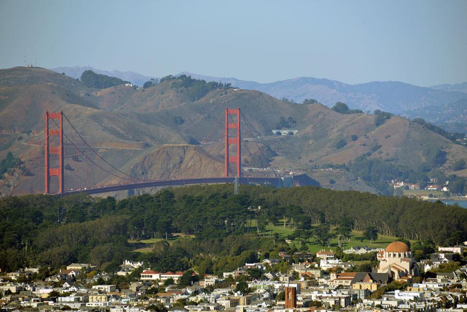 Golden Gate Bridge, erster Blick
