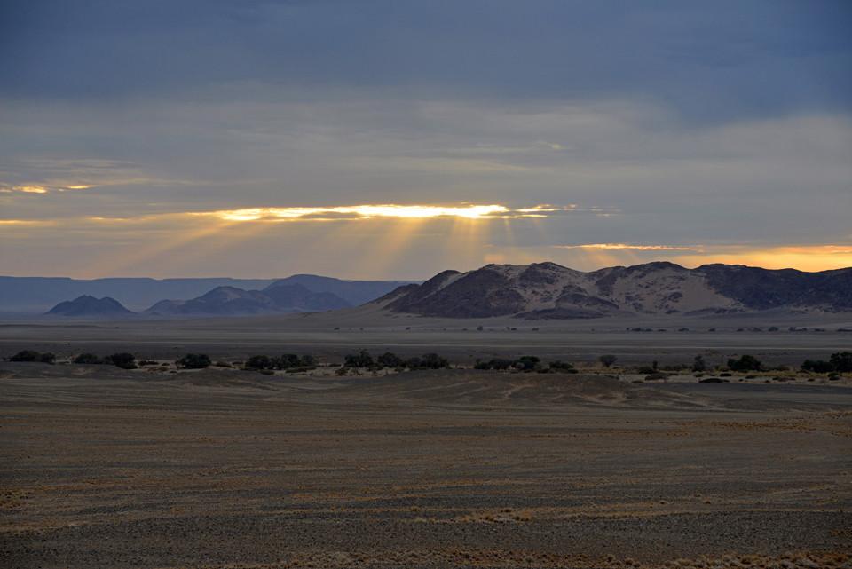 Sonnenaufgang in Sousesvlei