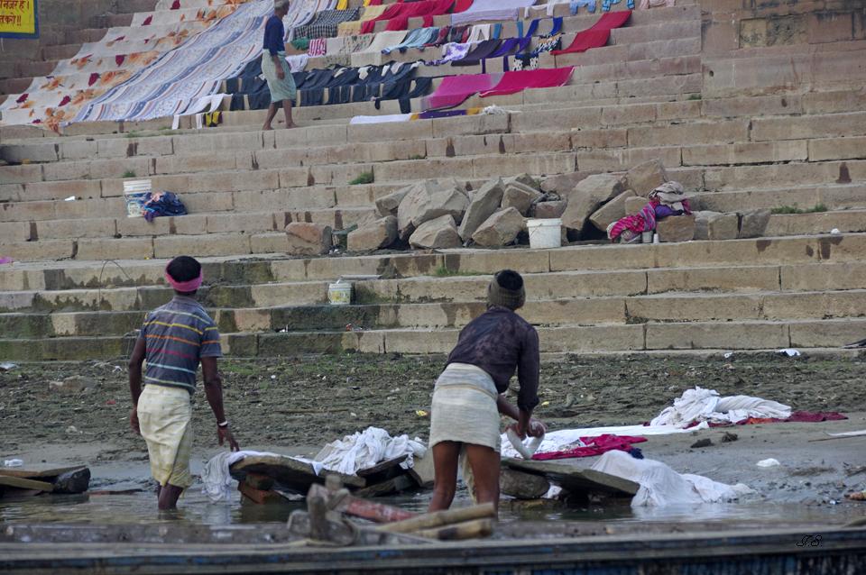 Wäscherei am Ganges