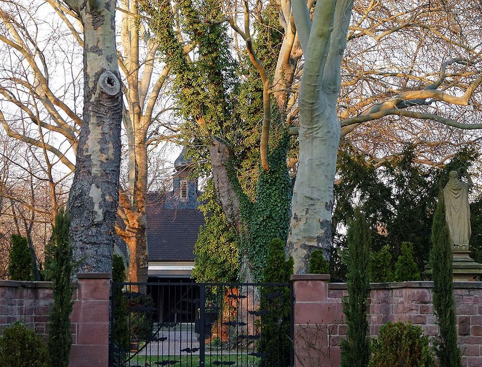 Eingang Friedhof