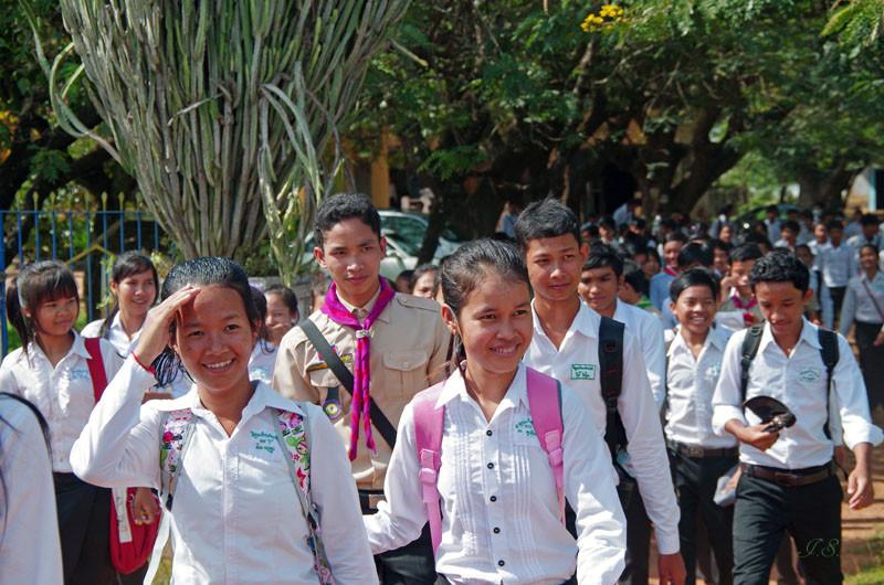 Phnom Penh - Siem Reap, Schule