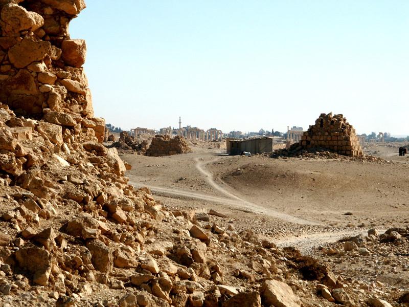 Palmyra, Säulenstraße