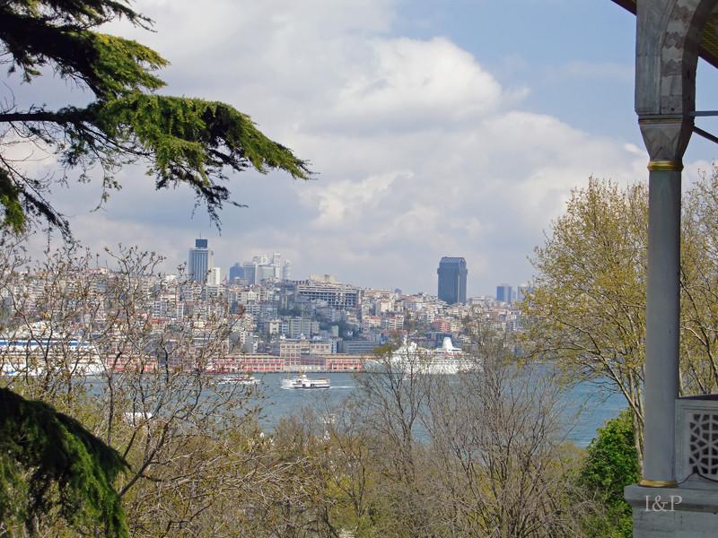 Blick über den Bosporus