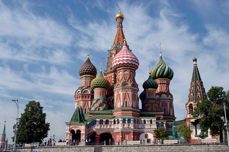 Moskau, Basiliuskathedrale