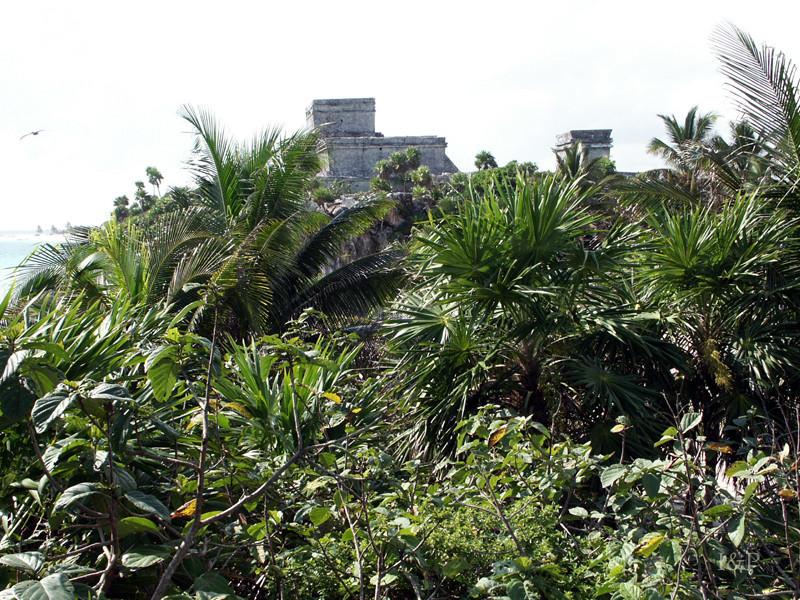 Tulum, Tempelanlage