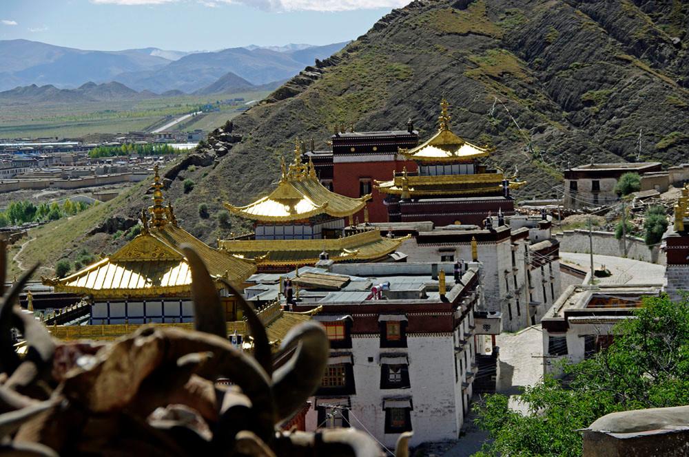 Panoramaweg Kloster Tashilhumpo-Dzong, Lingkor