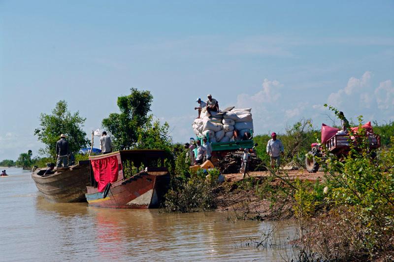 Bootsfahrt auf dem Tonle-Sap-See