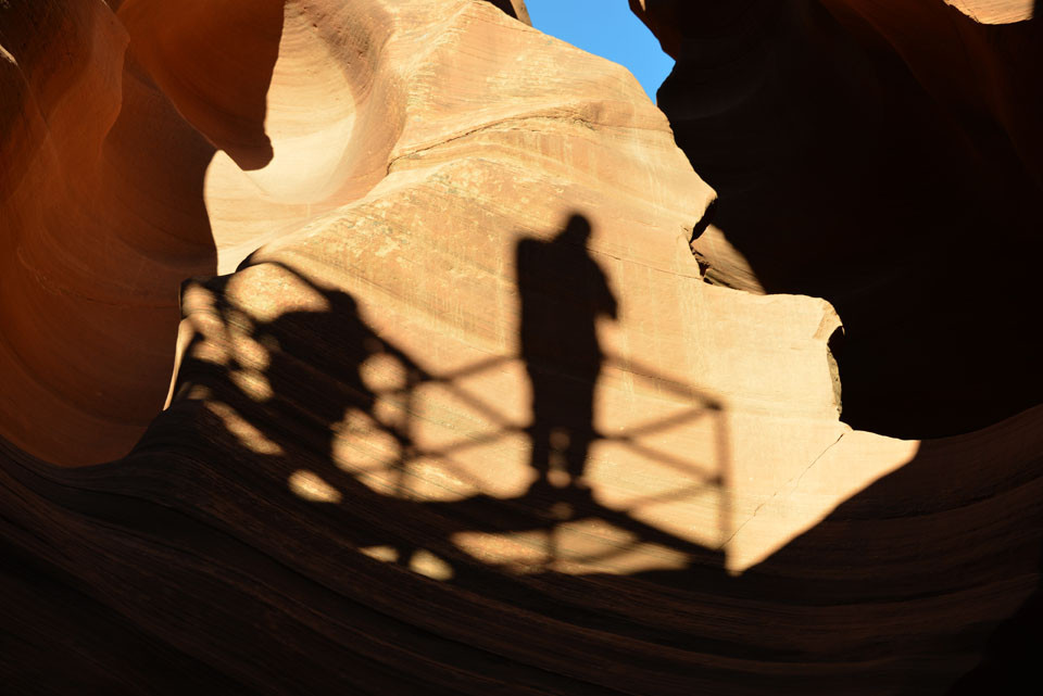 Antelope Canyon, Ausstieg