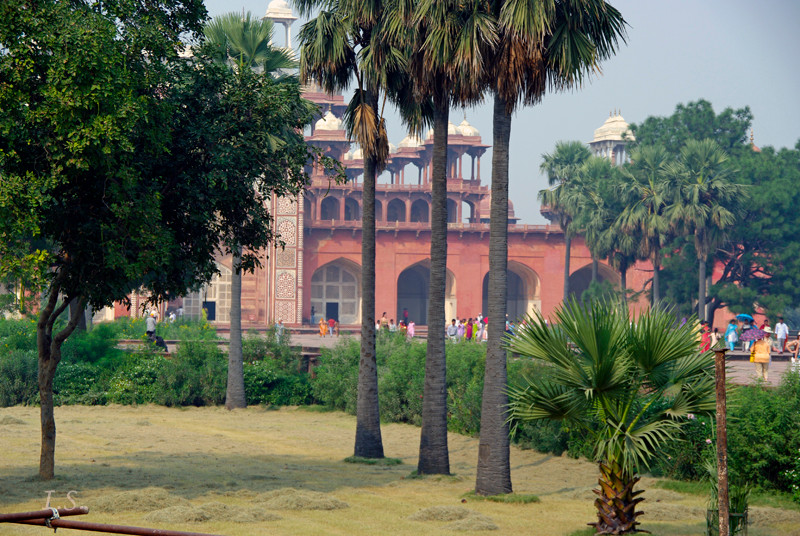 Delhi Palastbereich