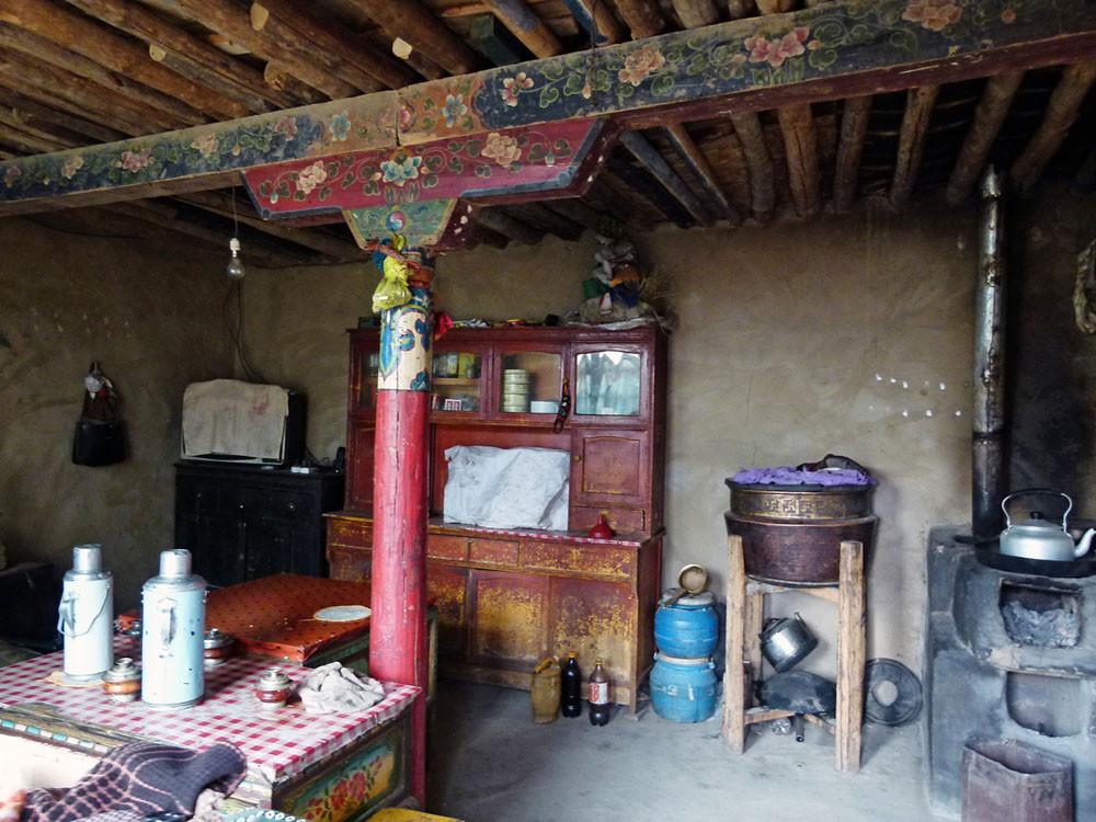 Besuch bei einer tibetischen Familie