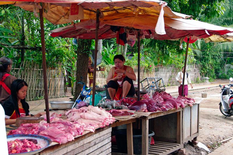 Morgenmarkt in Luang Prabang