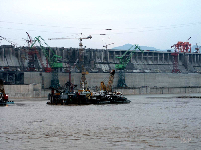 Jangjiawan Staudamm