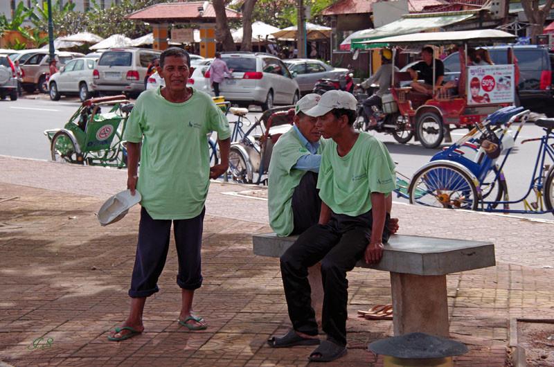 Phnom Penh, Rikschafahrt