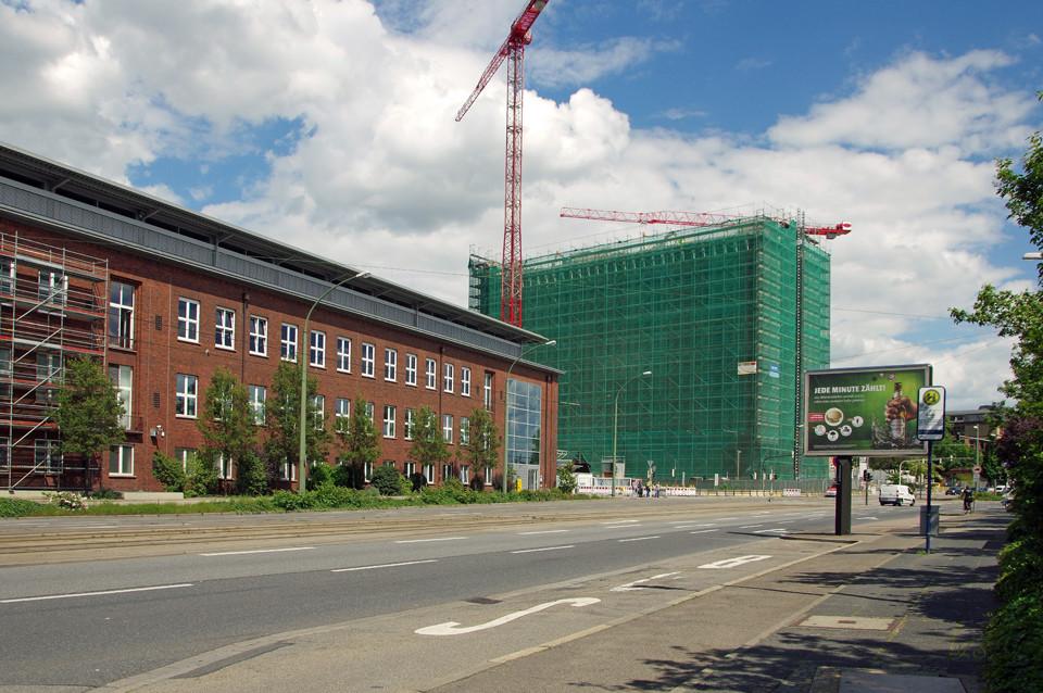 Friedrich-Engelhorn-Haus, bis Ende des Jahres wird's verschwunden sein...