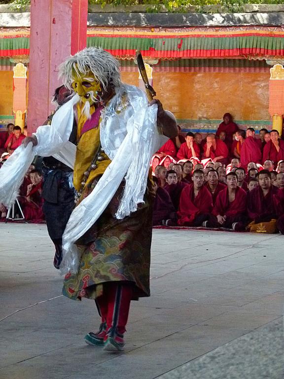 Kloster Tashilhumpo, feierliche Tänze