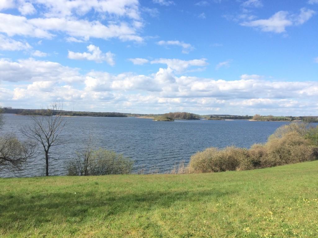 Blick auf den See Richtung Feldberg