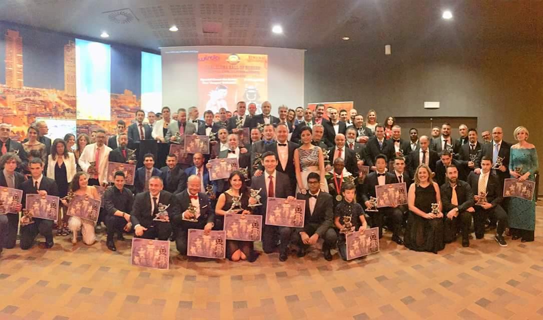Barcelona Hall of Honours, 9 juni 2018. Award winnaars.