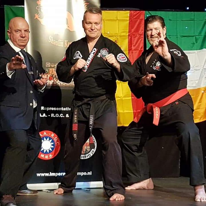 Gathering of the world masters, Bridlington (UK), 20-21 april 2017. Met Stuart Hicken en Toni Finken-Schaffrath.