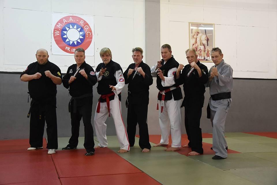 Imperator Shaolin Kempo, Hu Long en Budo Club Viersen.