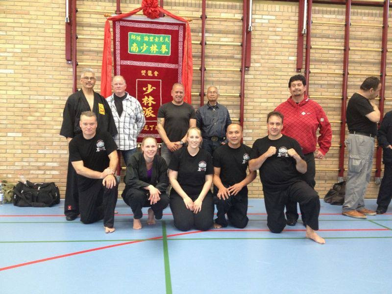 Kempo-Kuntao training