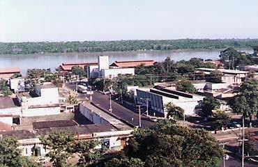 Vista da Av. Sete de Setembo e Rio Madeira